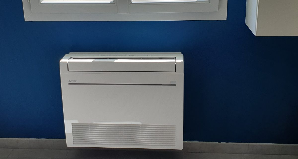 Installation d'une console Mitsubishi MFZ-KJ 3.5 kW